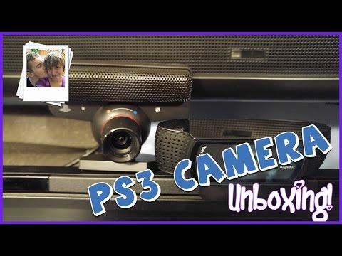 Playstation Eye Camera Unboxing (PS3)