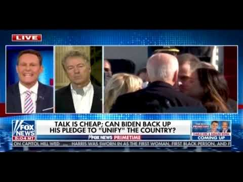 Rand Paul Begs Biden To Reassure Us He Won't 'Radically Transform The Country Into Some Sort Of Socialist Dystopia'