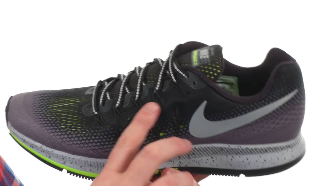 8bc0ddfb940d Nike Air Zoom Pegasus 33 Shield SKU 8753134 - YouTube