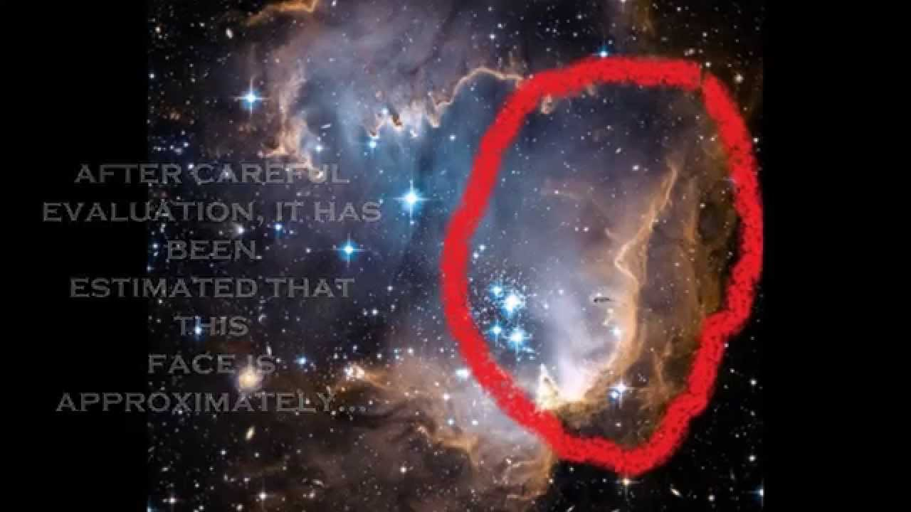 AN ALIEN FACE FOUND IN HUBBLE PICTURES - YouTube