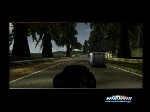 NFS Hot Pursuit 2 - Flying Police Car