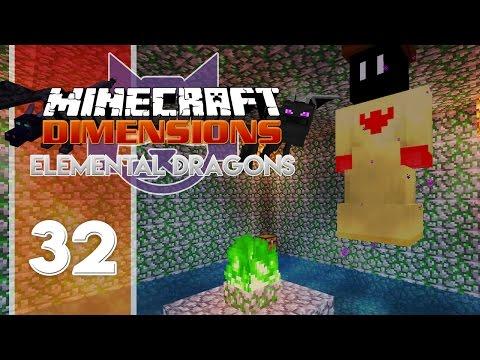 Minecraft Dimensions : Elemental Dragons (S4) | Ep.32 - LE TEMPLE DU VENT