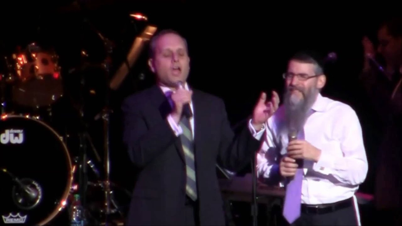 Avraham Fried and Chazan Arik Wollheim Concert Highlights
