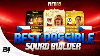 FIFA 15 | BEST POSSIBLE CZECH REPUBLIC SQUAD BUILDER w/ LEGEND NEDVED