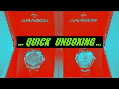 SuperJet & Antigravity Aragon Watches Unboxing...