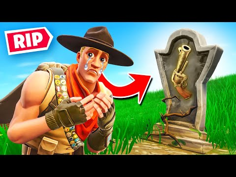 RIP REVOLVERS In Fortnite Battle Royale!