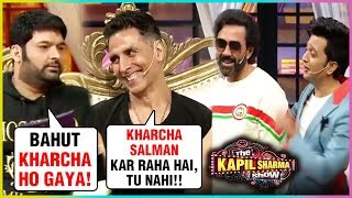 Akshay Kumar, Bobby Deol, Riteish Deshmukh HILARIOUS At The Kapil Sharma Show | Housefull 4