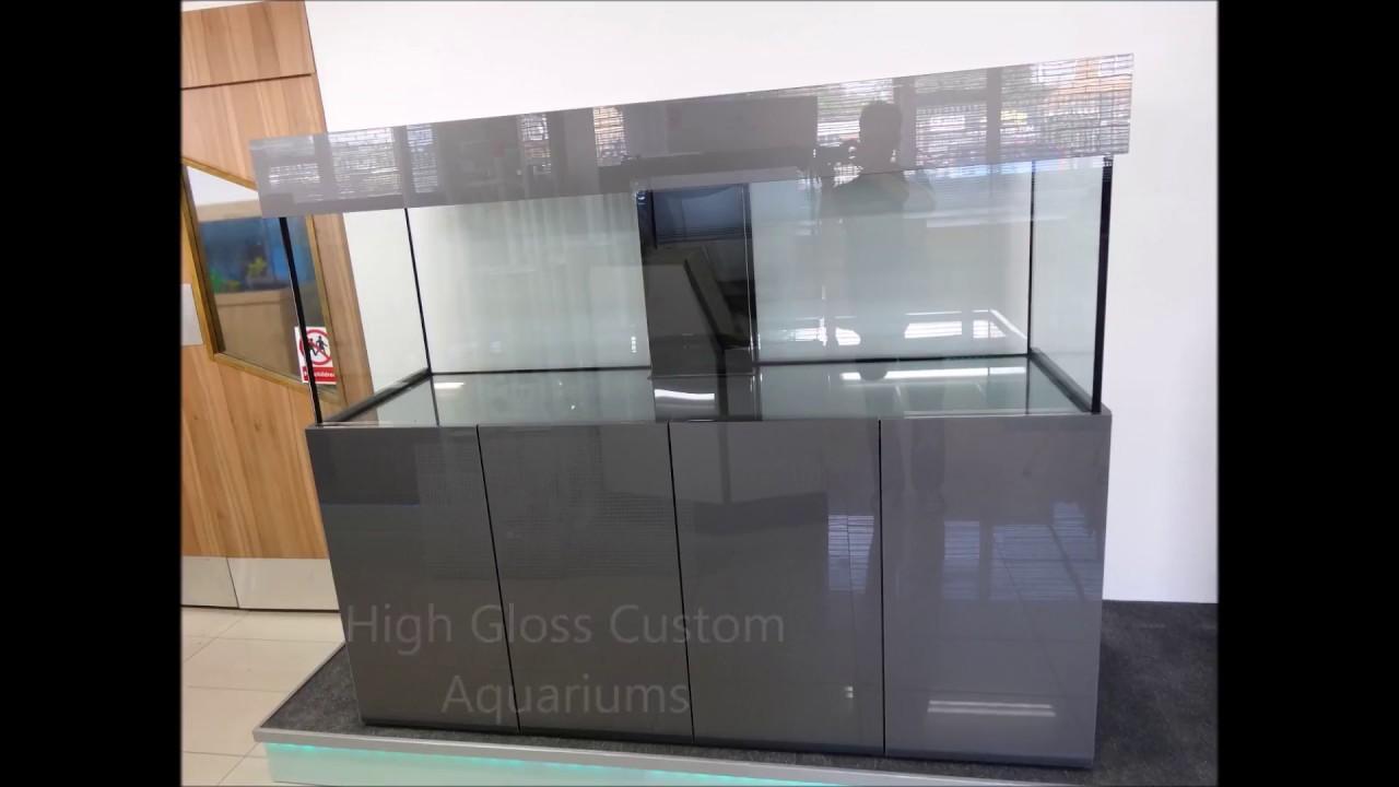High Gloss Aquarium Cabinets/Custom Built Fish Tanks