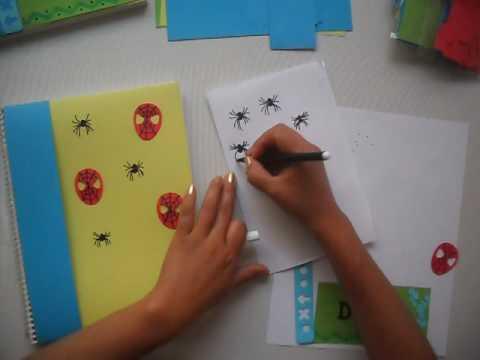 Cuadernos Decorados Para Niños Con Paquete De Diseño