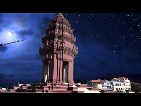 Santa Cam #6  Southeast Asia | NORAD