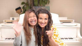 Cover images Angelica Hale Interview with Tara Simon (Vocal Coach)! 🤗😱