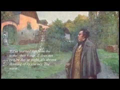 Anton Dermota, Die schöne Müllerin (with subtitles)