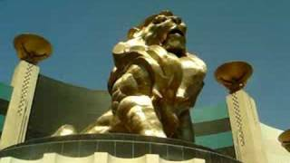 "Leo the Lion ""MGM GRAND HOTEL AND CASINO's MASSIVE LION STATUE"""