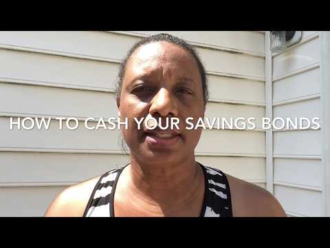 How To Cash Savings Bonds