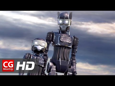 "CGI Animated Short Film HD: ""RUST Short Film"" by Matthieu Druaud"