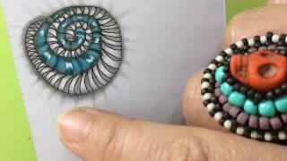 How To Draw Zentangle | Pattern Double Marasu #39 | Artzyfartzy 👩🏻🎨