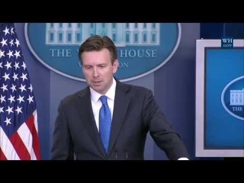 7/21/16: White House Press Briefing