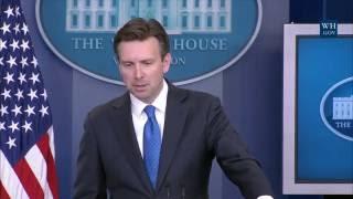7/21/16: White House Press Briefing
