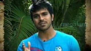 charan wishing naga chaitanya all the best for ...