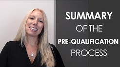 South Florida Mortgage Lender: Summary of the Pre-Qualification Process