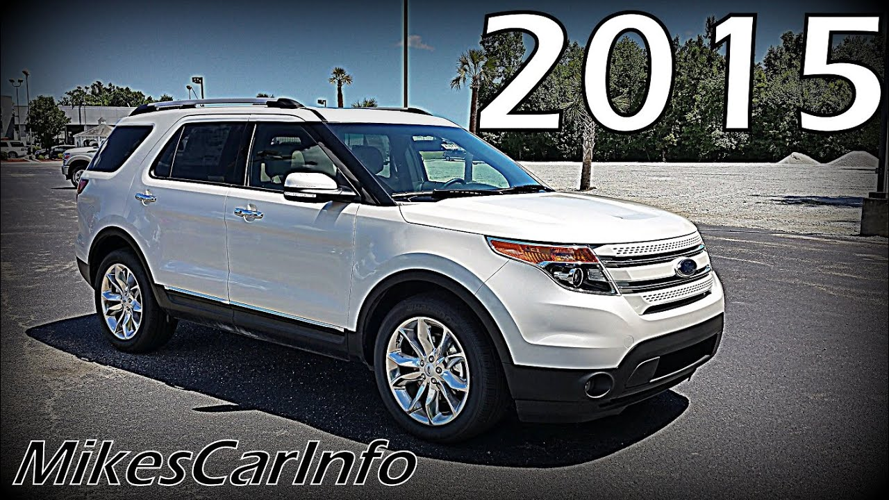 2015 Ford Explorer Limited Youtube