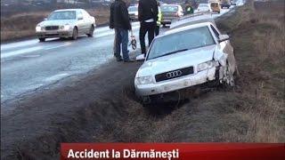 Accident la Dărmănești