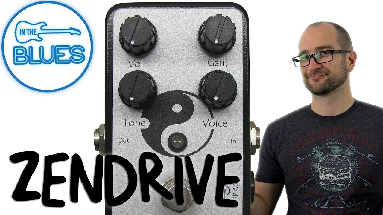 Zendrive Overdrive Pedal Demo (Dumble in a Box!) on