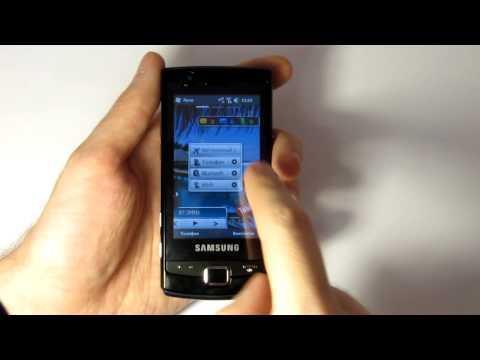 Видеообзор Samsung B7300 Omnia Lite от журнала MOBILux
