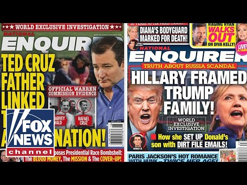 National Enquirer hid damaging Trump stories in safe