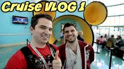 Welcome Aboard the Disney Wonder!  | Disney Cruise VLOG 1