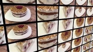 ПП рецепты Бисквитный торт с вишней №34