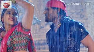 Dekha barsata barkha ke pani bhojpuri hot video song