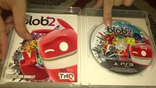 Nostalgamer Unboxes De Blob 2 Two On Sony Playstation 3 Three UK PAL System Version