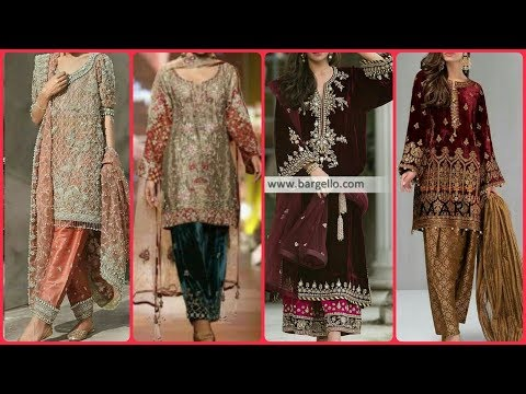 Most Stylish & Gourgious Party Wear Punjabi Salwar Kameez Designs Collections 2020