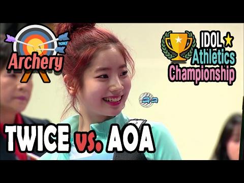 [Idol Star Athletics Championship] WOMEN ARCHERY PRELIMINARY : TWICE VS. AOA 20170130