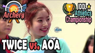 Video [Idol Star Athletics Championship] WOMEN ARCHERY PRELIMINARY : TWICE VS. AOA 20170130 download MP3, 3GP, MP4, WEBM, AVI, FLV Maret 2018