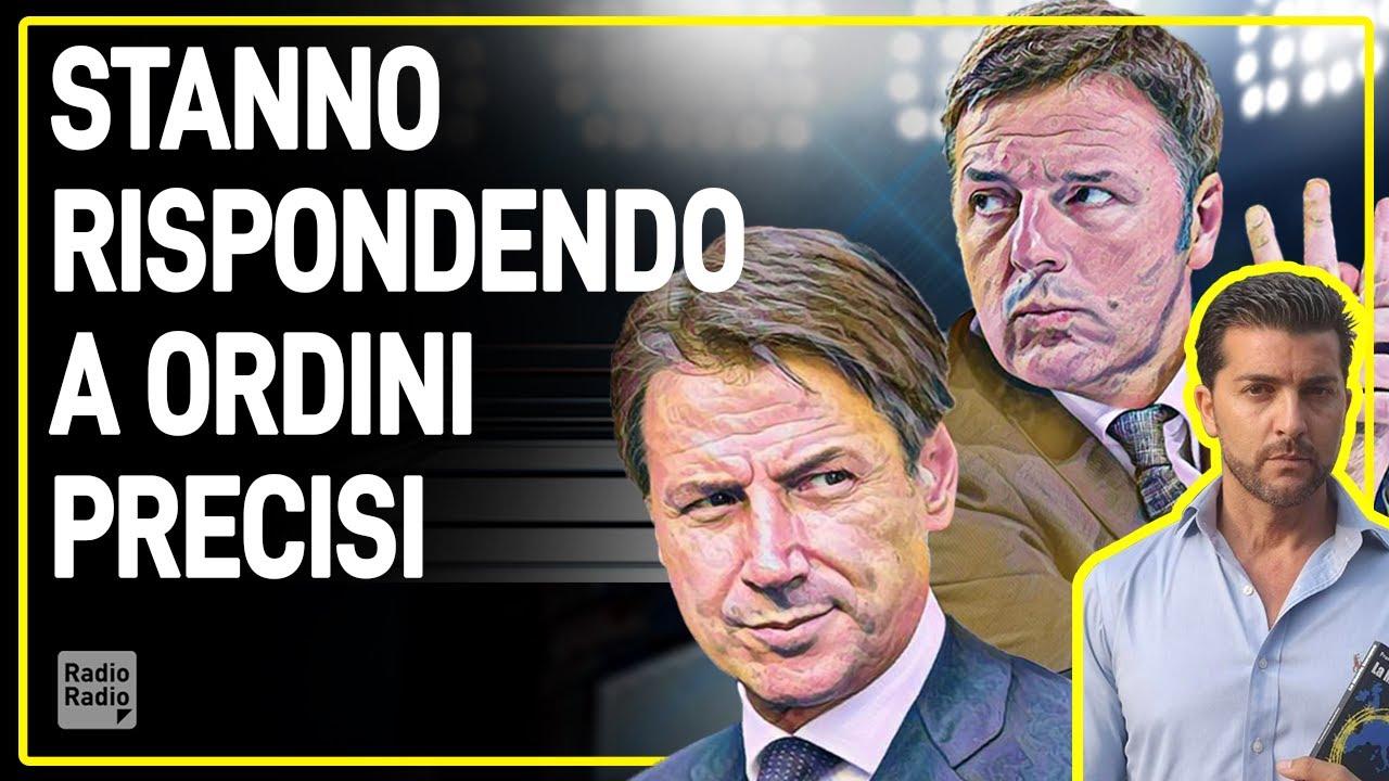 Renzi sta eseguendo ordini dall'alto: ecco quando staccherà la spina a Conte e perché - Amodeo