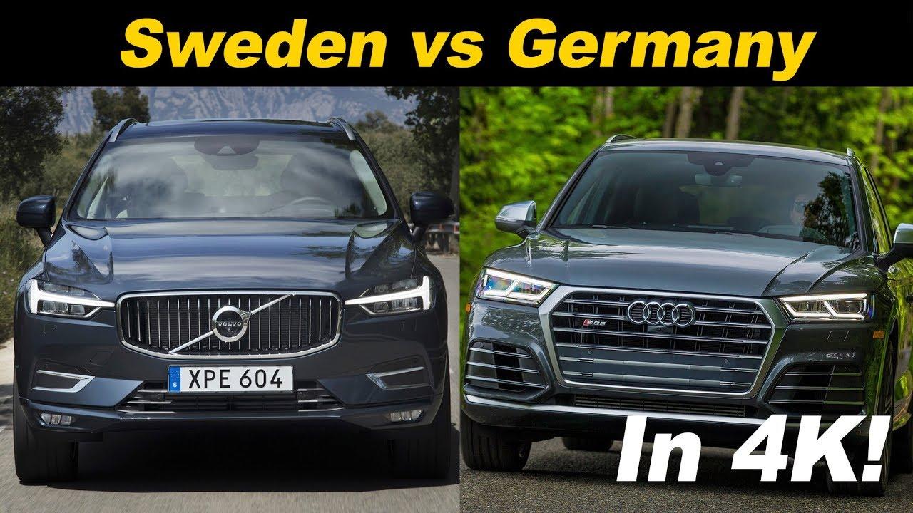 2018 Audi Sq5 Vs 2018 Volvo Xc60 T8 Comparison Review