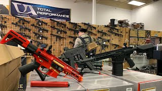 Shopping at GI Tactical in Plano, Texas