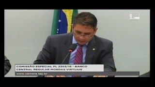 PL 2303/15 - BANCO CENTRAL REGULAR MOEDAS VIRTUAIS - Reunião Deliberativa - 08/11/2017 - 15:01
