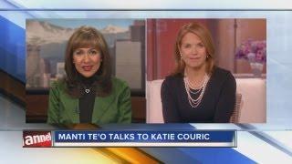 Katie Couric on Manti Te