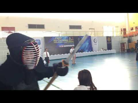 1st HoChiMinh Kendo Championship - Open team Kendo Project vs Hattori