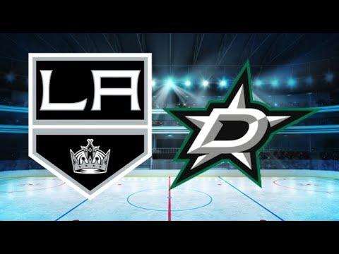 Los Angeles Kings vs Dallas Stars (3-0) – Jan. 29, 2018 | Game Highlights | NHL 2018