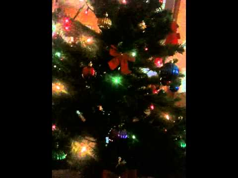 :) My Christmas Tree playing different Christmas Music!