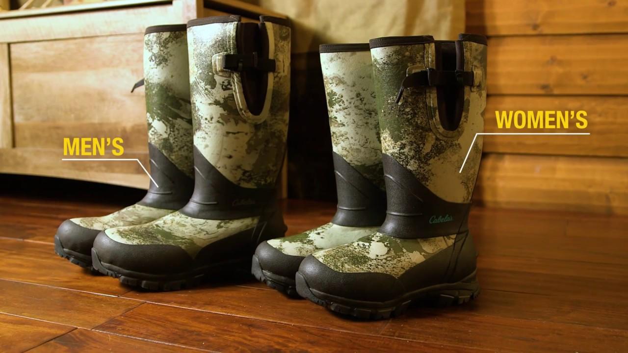 49511e01491 Cabela's Stand-Hunter 1,600-Gram Rubber Boots