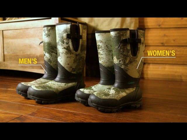 Cabela's Stand-Hunter 1,600-Gram Rubber Boots
