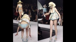 Жесткие падения моделей на подиумах мира!!! | показ мод девушек