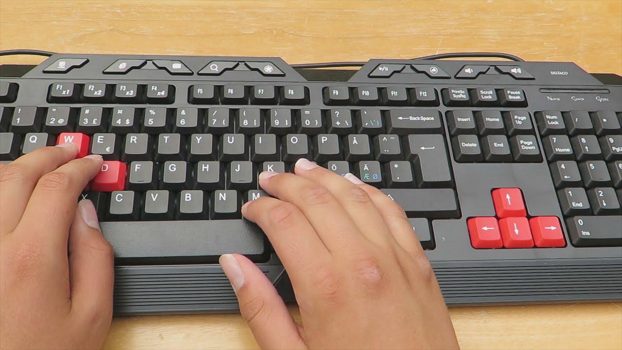 Deltaco TB-118 Gaming Tangentbord Recension - YouTube 8272afa5ff447