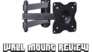 VideoSecu Articulating Arm Monitor Mount Review/Unboxing