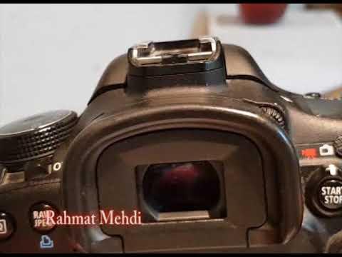 Canon EOS 7D photography setting